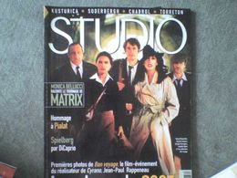 Studio Isabelle Adjani Gérard Depardieu Monica Bellucci Matrix Leonardo DiCaprio Kristin Scott-Thomas Claude Chabrol - Cinema