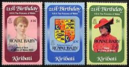 [812031]Kiribati 1982 - N° 85/87, ROYAL BABY, SC, Familles Royales - Kiribati (1979-...)