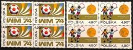 [813088]Pologne 1974 - N° 2155/56, Coupe Du Monde En Allemagne, Football, Sc, BD4, SNC - 1974 – West Germany