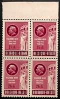 [813526]BELGIQUE 1953 - N° 908, Walthère Dewez, Héros De La Résistance,Guerre Mondiale (Seconde), Monuments Aux Morts, B - Unused Stamps