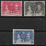 1937 Jamaica 3v. - Jamaica (1962-...)