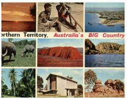 (C 28) Older - Australia - Big Territory (send From Singapore With Stamps In 1971) - Aborigenes