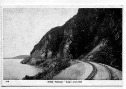 CANADA -  Railway Tunnel Mink Lake Suprior - Ouvrages D'Art