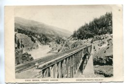 CANADA -  Canadian Pacific Railway  Cisco Bridge, Fraser Canyon - Unused Undivided Rear - Ouvrages D'Art