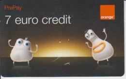 Romania - Phonecard - 7 Euro Credit Prepay - Orange - Roumanie
