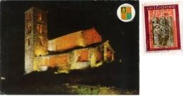 VALLS D'ANDORRA  PRINCIPAT D'ANDORRA  ANDORRE  CANILLO  Iglesia Romanica De San Juan De Casselles  Nice Stamp - Andorra