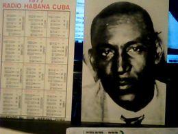 CUBA / KUBA 1977 CALENDARIO RADIO HABANA JESUZ MENDEZ  HQ9872 - Calendars