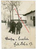 Kirche Church ( Luka) Soldaten - 1917 -  Ukraine Karpaten (Zloczow-Luka?)-guerre 14/18-WWI Photo Allemande - 1914-18