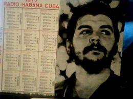 CUBA / KUBA 1977 CALENDARIO RADIO HABANA CHE GUEVERA HQ9877 - Calendars
