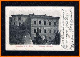 REPUBBLICA DI SAN MARINO 1917 Ospedale E Ricovero 2410.C1657 - Saint-Marin