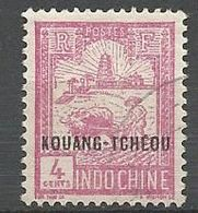 KOUANG-TCHEOU N° 80 OBL - Kouang-Tcheou (1906-1945)