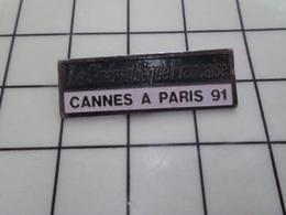 1220 Pin's Pins / Beau Et Rare / THEME : CINEMA / LA CINEMATHEQUE FRANCAISE CANNES A PARIS - Cinéma