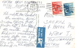 ISRAEL - AIRMAIL POSTKARTE 1969 - WIEN /ak708 - Covers & Documents