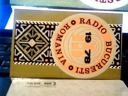 1978 CALENDARIO  RADIO Stations BUCURESTI ROMANIA   HQ9879 - Calendars