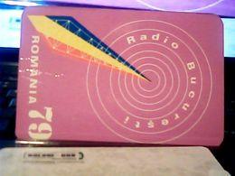 1979 CALENDARIO  RADIO Stations BUCURESTI ROMANIA   HQ9880 - Calendars
