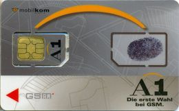 Austria GSM/SIM Phonecard ( Chip Is Glued With Tape ) - Autriche