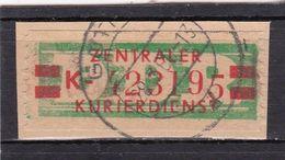 DDR, Dienst:  ZKD 31II K, Gest. (T 16868) - [6] República Democrática