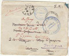 Tarn, ESC FM Valence D'Albigeois -> Dépot 161 Lavaur -> Démobilisé  23/7/1940 - Guerra De 1939-45