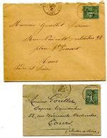 SARTHE De GRAND LUCE Dateur A1 Et A2 Sur 2 Env. De 1905 - 1877-1920: Periodo Semi Moderno