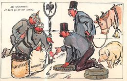 Le Cochon Je Sens Qu'on Est Vendu.  - Guerre 1914-18 - Famine - Collaboration - Exportation - Allemagne - Fromage - Autres