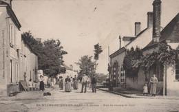 St Christophe-en-Bazelle - Rue Du Champ De Foire - Francia