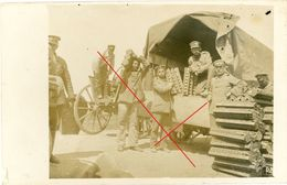 Etappen Kraftwagenkolonne (3-3) Russland Litauen  -guerre 14/18-WWI Carte Photo Allemande - 1914-18