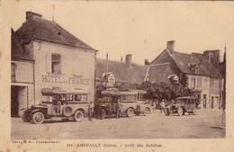 Ambrault - Arrêt Des Autobus - Francia