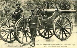 029 500 - CPA - Militaria - Guerre 1914-15 - Gros Canon Belge D'Anvers - Ausrüstung