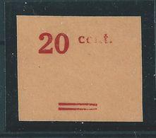 Saar MiNr. 74 P      (sab02) - 1920-35 Sociedad De Naciones