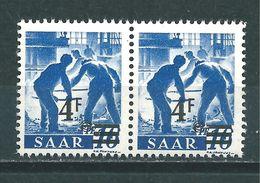 Saar MiNr. 231 ** Abart (sab03) - 1947-56 Ocupación Aliada