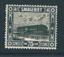 Saar MiNr. 101 V * (sab03) - 1920-35 Sociedad De Naciones