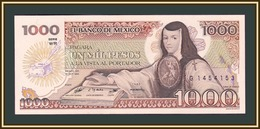 Mexico 1000 Pesos 1984 P-81 (81a.24) UNC - Mexique