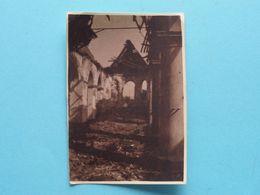 WOESTEN L'Eglise Intérieur ( Zie Scans ) Form. Foto +/- 8 X 6 Cm. ! - Guerre, Militaire