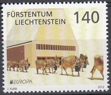Liechtenstein 2012. Europa - CEPT.  MNH** - Liechtenstein