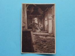 WOESTEN L'Eglise ....latérale Gauche ( Zie Scans ) Form. Foto +/- 8 X 6 Cm. ! - Guerre, Militaire