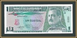 Guatemala 1 Quetzal 1992 P-73 (73c) UNC - Guatemala