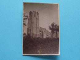 WOESTEN L'Eglise Exterieur ( Zie Scans ) Form. Foto +/- 8 X 6 Cm. ! - Krieg, Militär