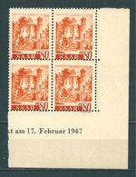 Saar MiNr. 223 Br ** Bogenecke  (sab09) - 1947-56 Ocupación Aliada