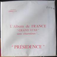 CERES - Jeu PRESIDENCE/FRANCE 2005 (REF. PF2005) - Alben & Binder