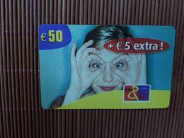 Pay & Go Proximus Prepaid 50 Euro Low Issue Used  Rare - Belgique