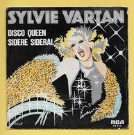 Disque Vinyle 45 Tours : SYLVIE VARTAN : DISCO QUEEN..Scan B  : Voir 2 Scans - Disco, Pop