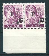 Saar MiNr. 228 II/I ** Abklatsch (sab15) - 1947-56 Ocupación Aliada