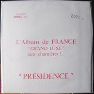 CERES - Jeu PRESIDENCE/FRANCE 2002 (REF. PF2002) - Fogli Prestampati