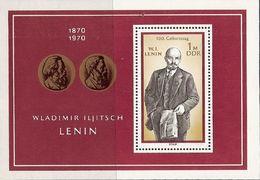 République Démocratique Allemande, Bloc Feuillet N° 26,  Lénine - Blokken