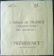 CERES - Jeu PRESIDENCE/FRANCE COLIS POSTAUX 1892/1961 (REF. PFCP) - Fogli Prestampati