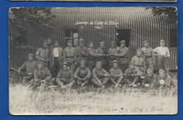 Carte Photo   Soldats Français   Souvenir Du Camp De BITCHE  1926 - Regimenten