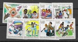 1972 MNH Rwanda, Racisme - Ruanda