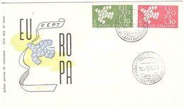 18.9.1961 EUROPA - FDC