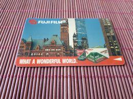 Fujifim Phonecard Private 1SFUL Used Rare - Singapur