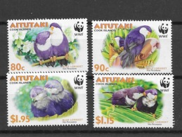 2002 MNH Aitutaki Mi 772-5 - Aitutaki